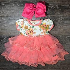 Matilda Jane NWOT tulle floral dress